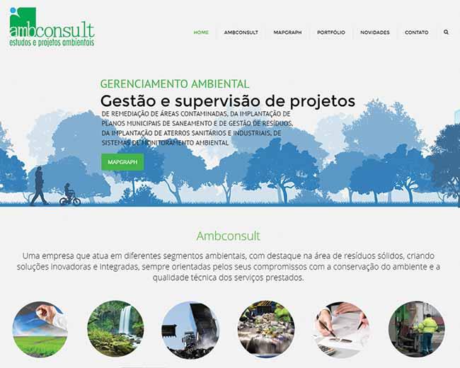 Site em WordPress para a Ambconsult
